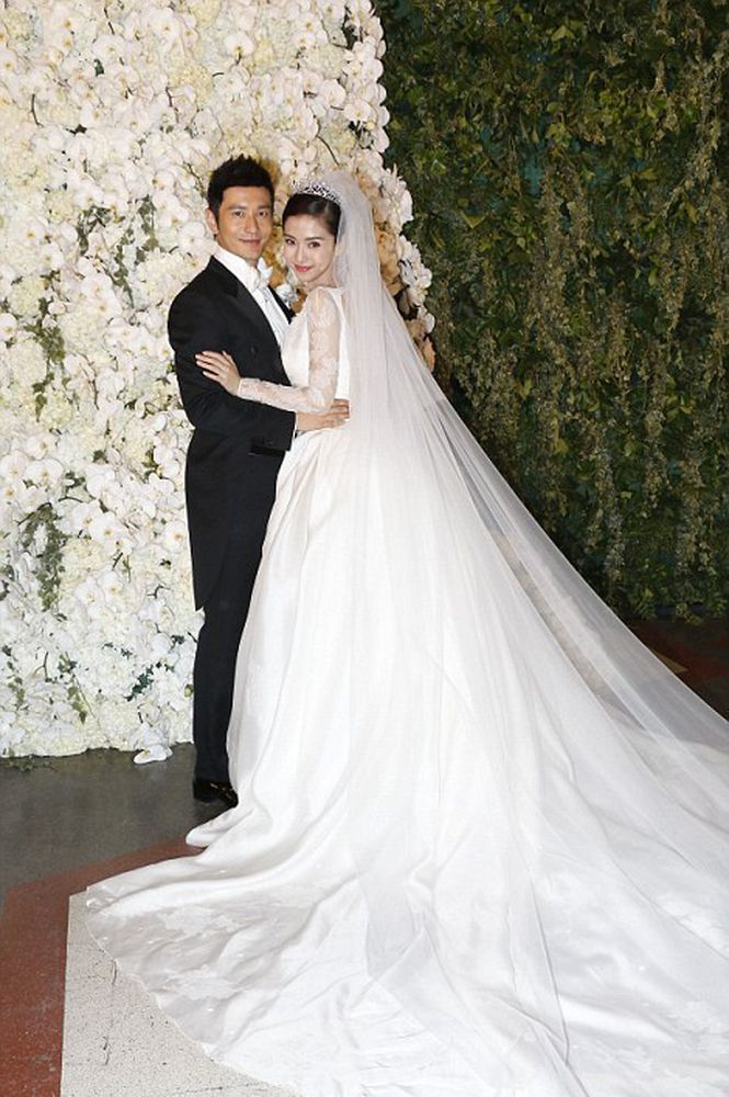 Angelababy-Wedding-Dress-1 15 Most Expensive Celebrity Wedding Dresses