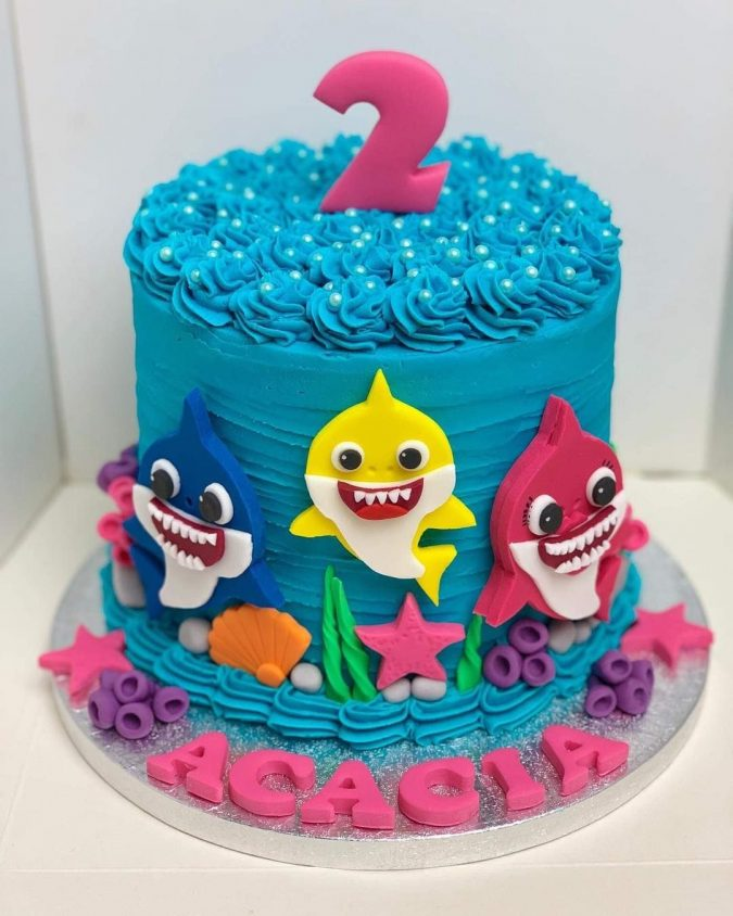 Baby-shark-cake-675x844 Top 20 Most Delicious and Popular Cakes in the USA