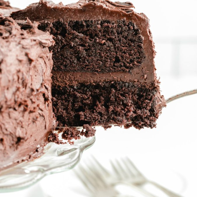 Chocolate-Mayonnaise-Cake-675x675 Top 20 Most Delicious and Popular Cakes in the USA