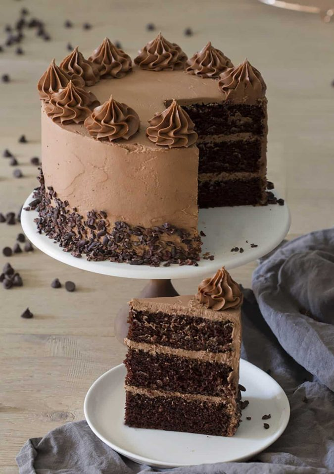 Chocolate-cake-using-buttercream.-675x957 Top 20 Most Delicious and Popular Cakes in the USA