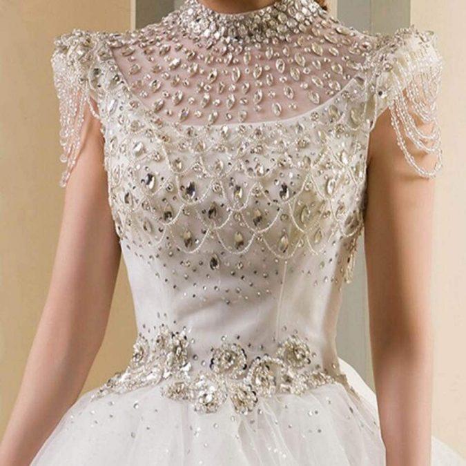 Diamond-wedding-gown-675x675 15 Most Expensive Celebrity Wedding Dresses