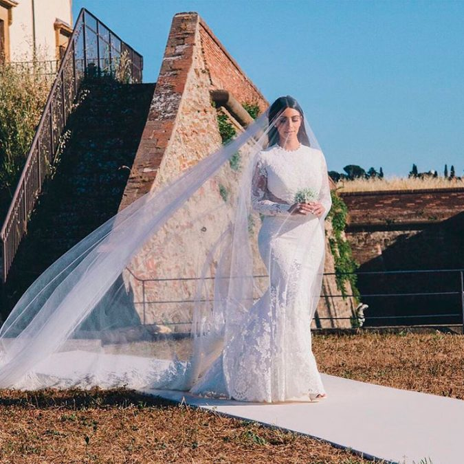 Givenchy-of-Kim-Kardashian.-675x675 15 Most Expensive Celebrity Wedding Dresses