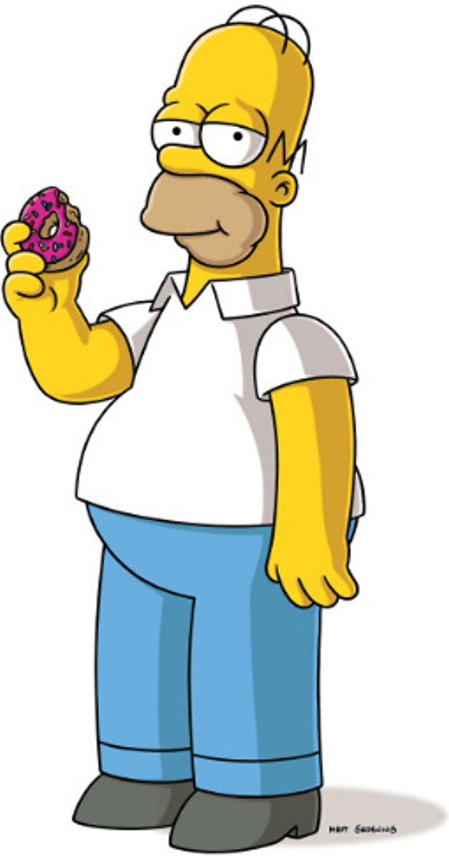 Homer-Simpson-cartoon Top 25 Most Popular Cartoon Characters of All Time