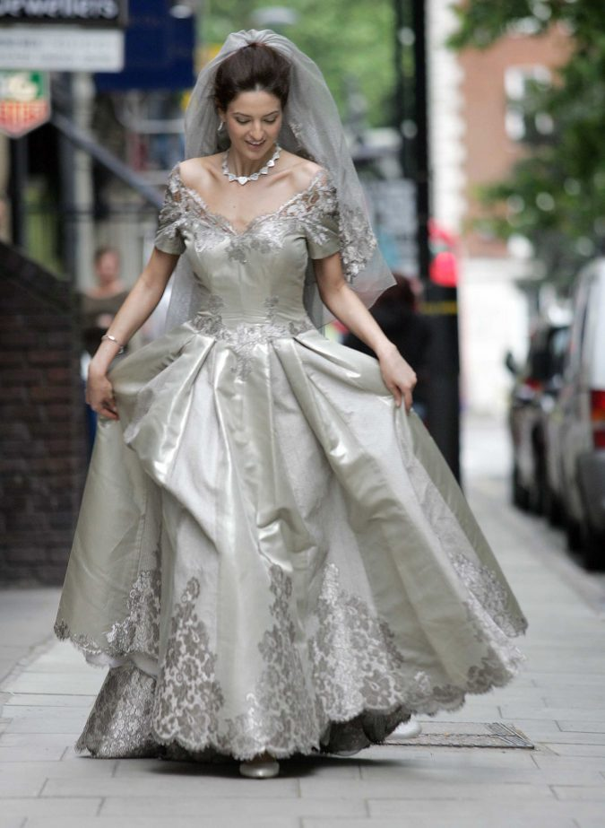 Mauro-Adami-Wedding-Dress-675x923 15 Most Expensive Celebrity Wedding Dresses