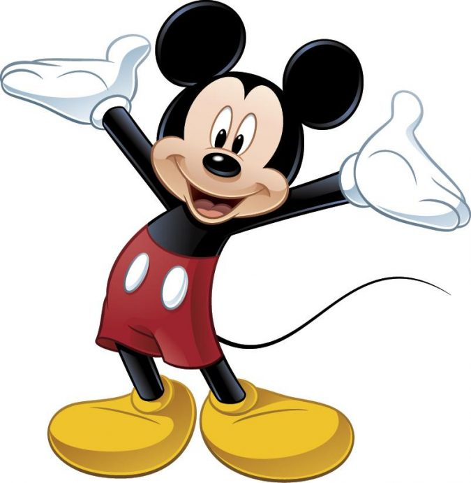 Mickey-Mouse-675x691 Top 25 Most Popular Cartoon Characters of All Time