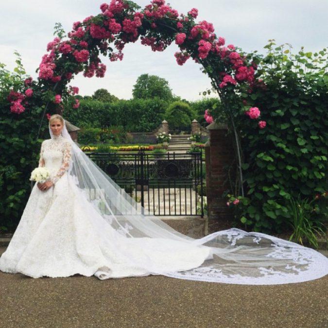 Nicky-Hilton-675x675 15 Most Expensive Celebrity Wedding Dresses