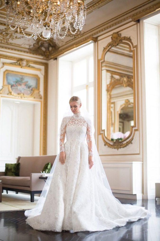 Nicky-Hilton-dress-675x1013 15 Most Expensive Celebrity Wedding Dresses