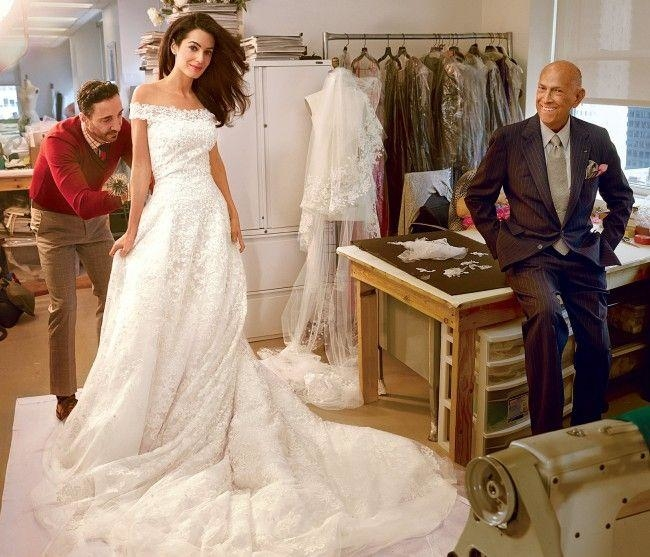 Oscar-de-la-Renta-gown 15 Most Expensive Celebrity Wedding Dresses