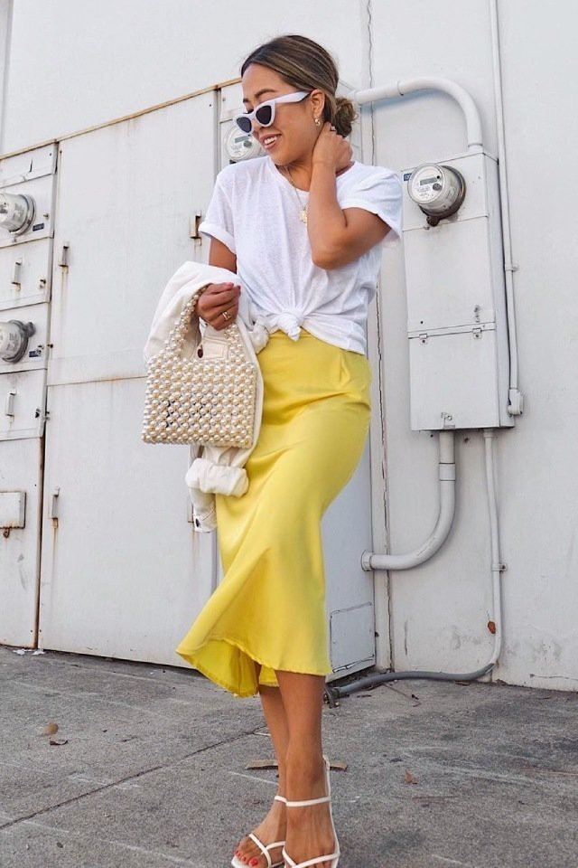 Slip-Skirt-1 How to Seamlessly Transition Your Wardrobe from Spring to Summer