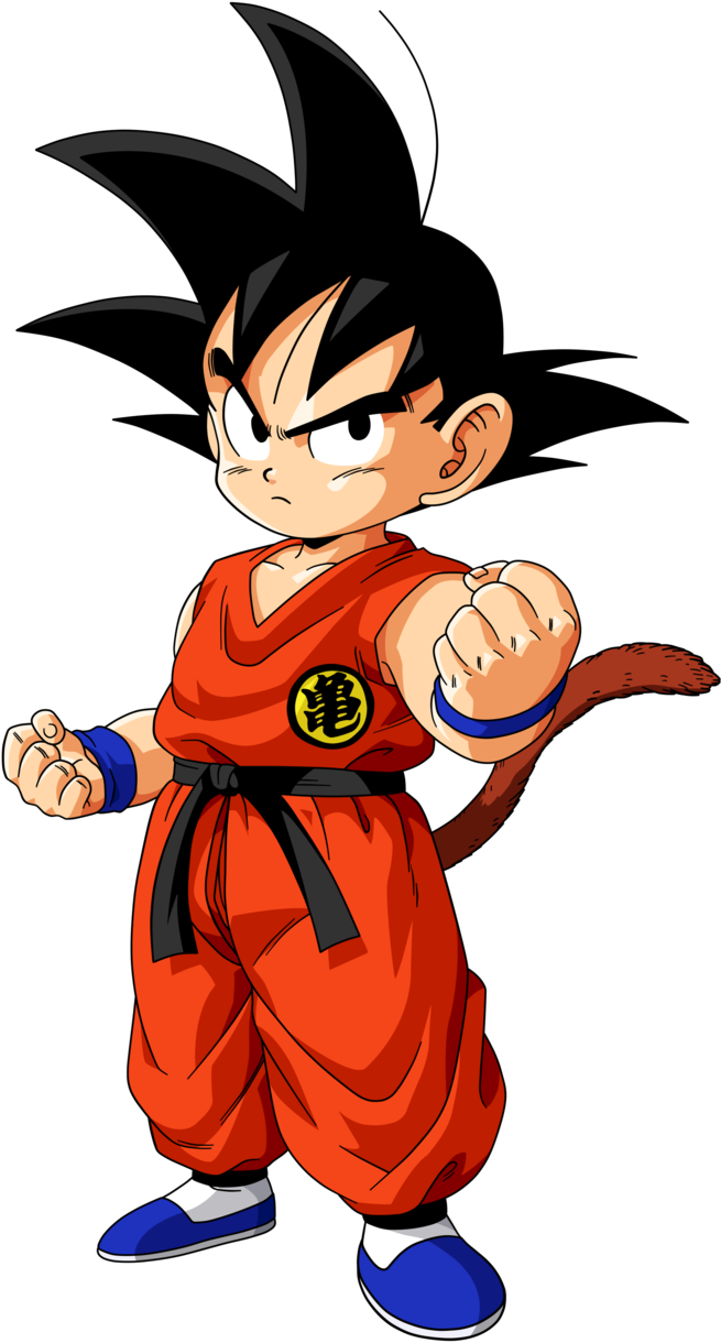 Son-Goku-cartoon Top 25 Most Popular Cartoon Characters of All Time