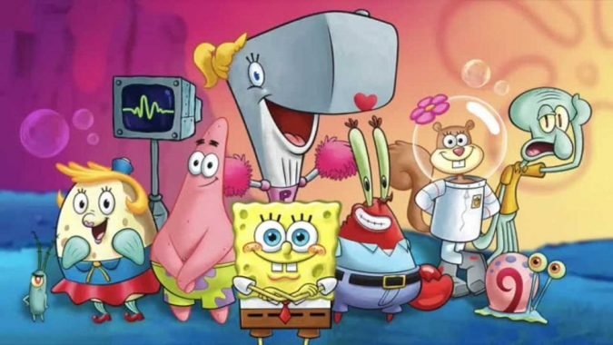Spongebob-cartoon-2-675x380 Top 25 Most Popular Cartoon Characters of All Time
