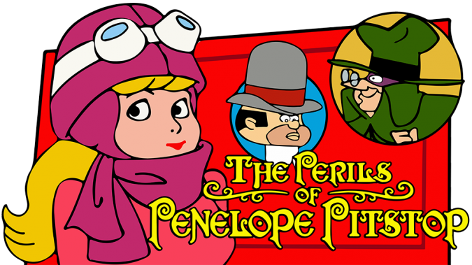 The-Perils-of-Penelope-Pitstop-cartoon-675x379 Top 25 Most Popular Cartoon Characters of All Time