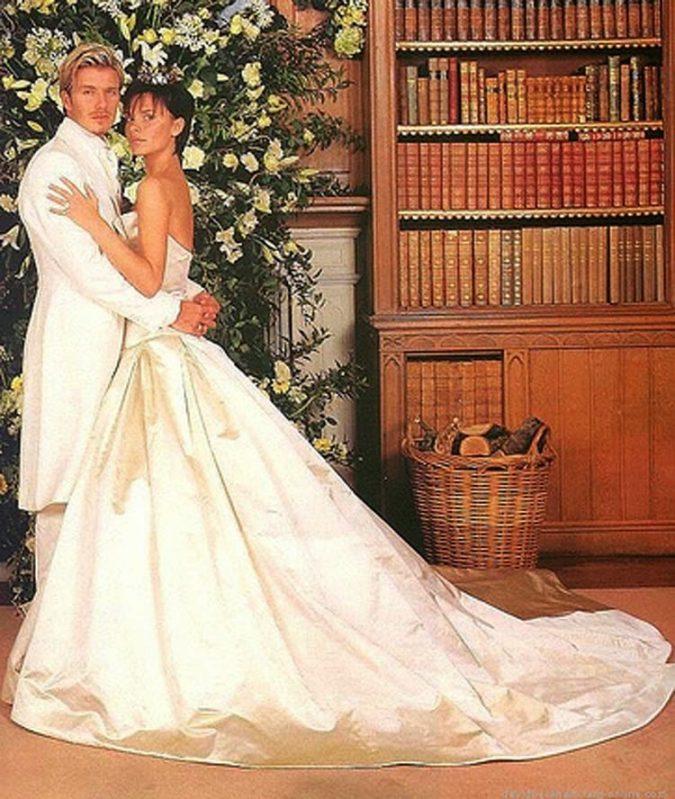 Victoria-Beckham.-1-675x799 15 Most Expensive Celebrity Wedding Dresses