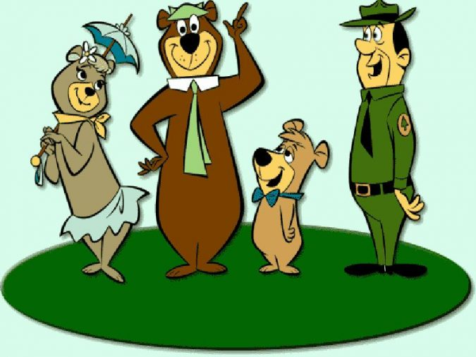 Yogi-Bear-cartoon-2-675x506 Top 25 Most Popular Cartoon Characters of All Time