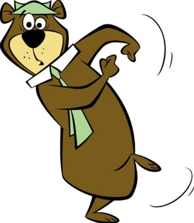 Yogi-Bear-cartoon-e1591184215261-675x777 25+ Most Famous Cartoon Characters of All Time