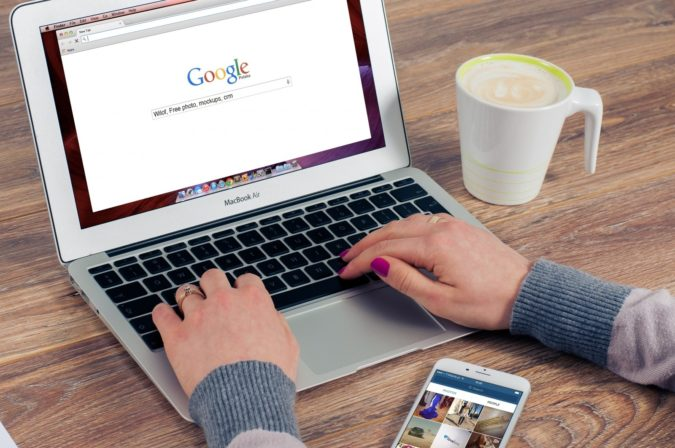 google-laptop-675x448 How to Become a Travel Blogger? 10 Must Steps to Follow