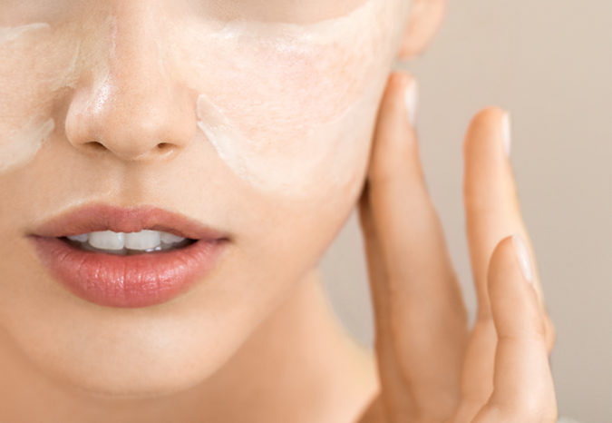 skin-care-routine-675x466 Protect Your Skin from Acne Caused by Face Mask with Simple Remedies