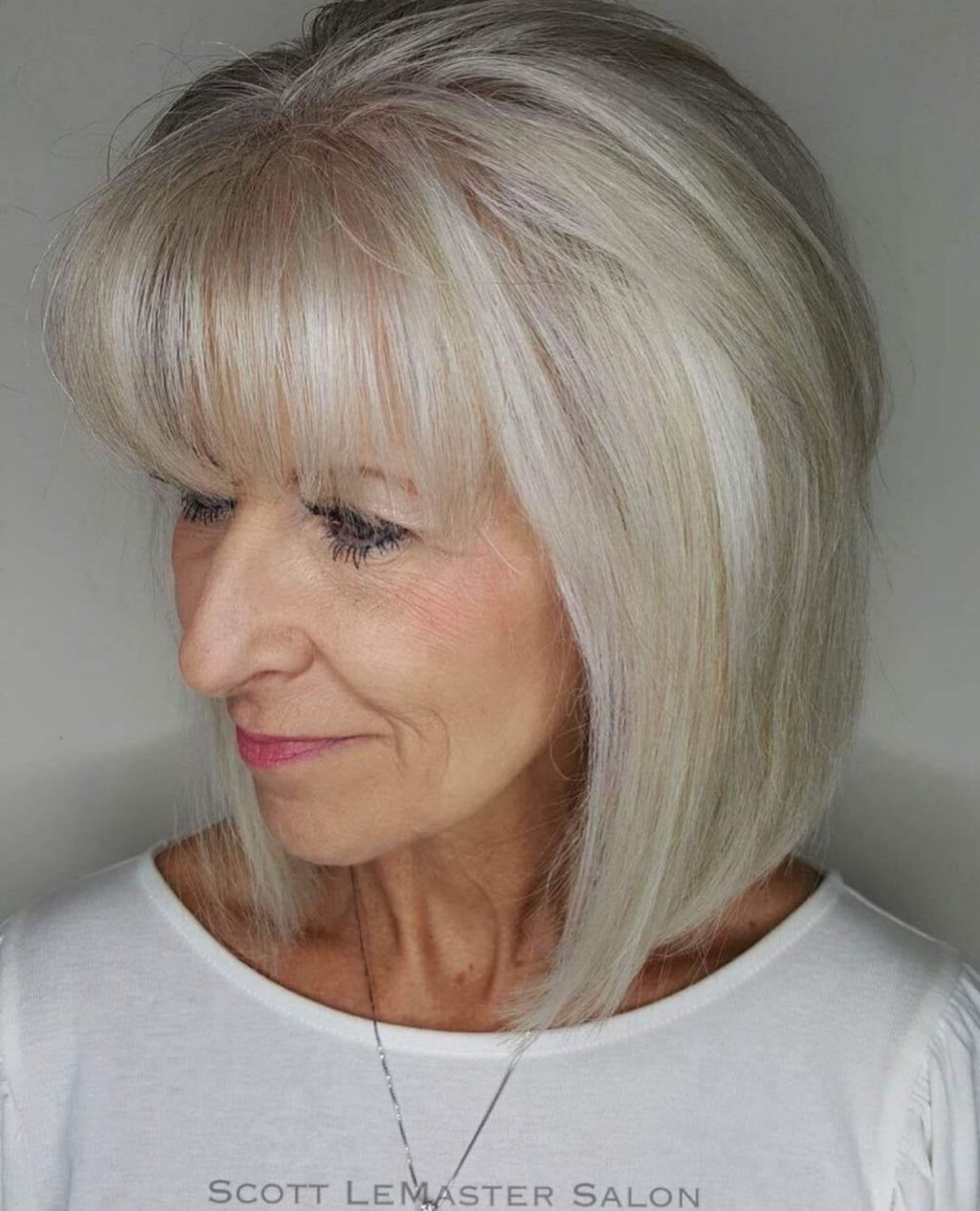 Angled-Bangs-1024x1265 Best 12 Hairstyles for Women Over 60 to Look Younger
