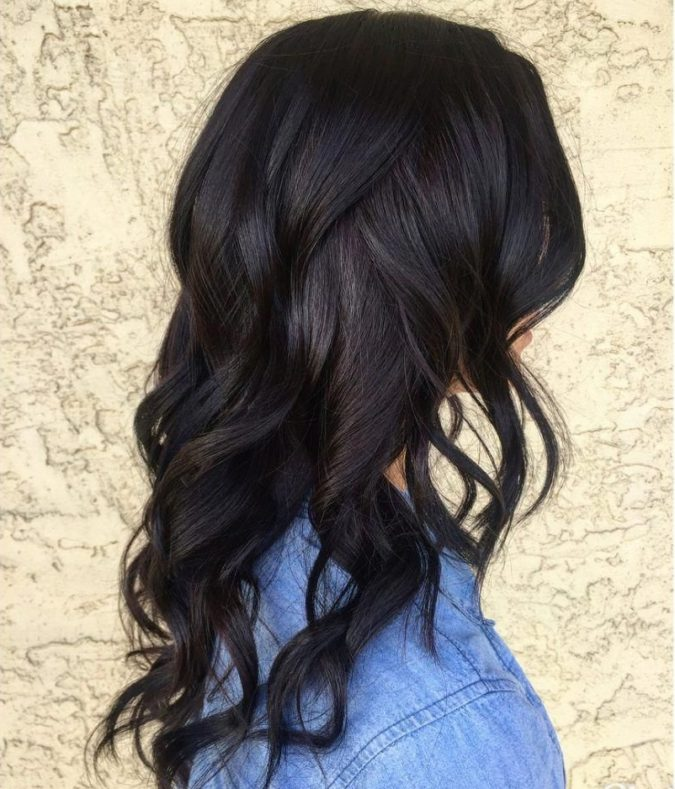 Black-and-Almost-Black-675x789 Top 20 Hottest Colorful Hair Ideas that Are So Cool in 2020