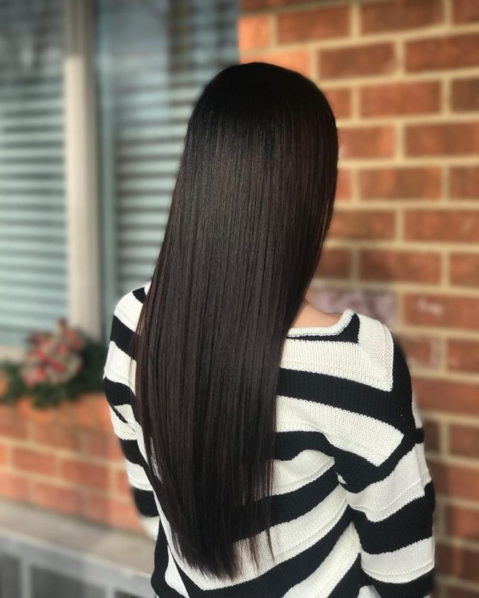 Black-hair-1-675x843 Top 20 Hottest Colorful Hair Ideas that Are So Cool in 2021