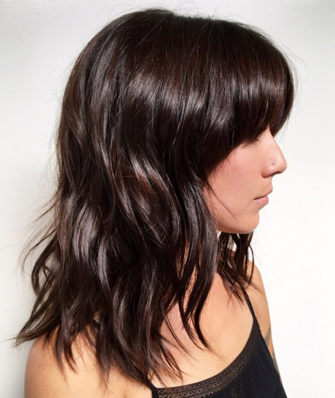 Black-hair-2-675x801 Top 20 Hottest Colorful Hair Ideas that Are So Cool in 2021