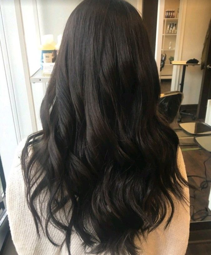 Black-hair-675x814 Top 20 Hottest Colorful Hair Ideas that Are So Cool in 2020