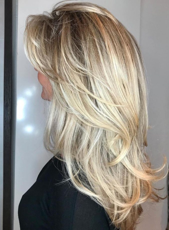 Blonde-layers-3-675x920 20 Most Trendy Hairstyles for Women over 40 to Look Younger