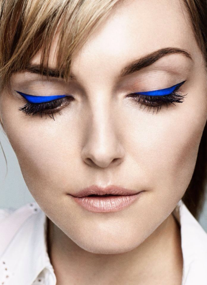 Colored-Eyeliner-675x931 Best 10 Colorful Face Makeup Looks to Try in 2020