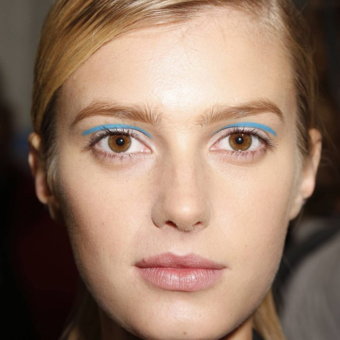 Floating-Eyeliner.-1-675x675 Best 10 Colorful Face Makeup Looks to Try in 2020