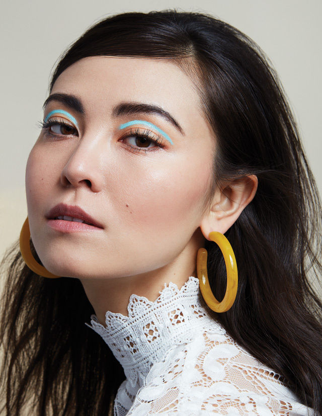 Floating-Eyeliner..-2 Best 10 Colorful Face Makeup Looks to Try in 2020
