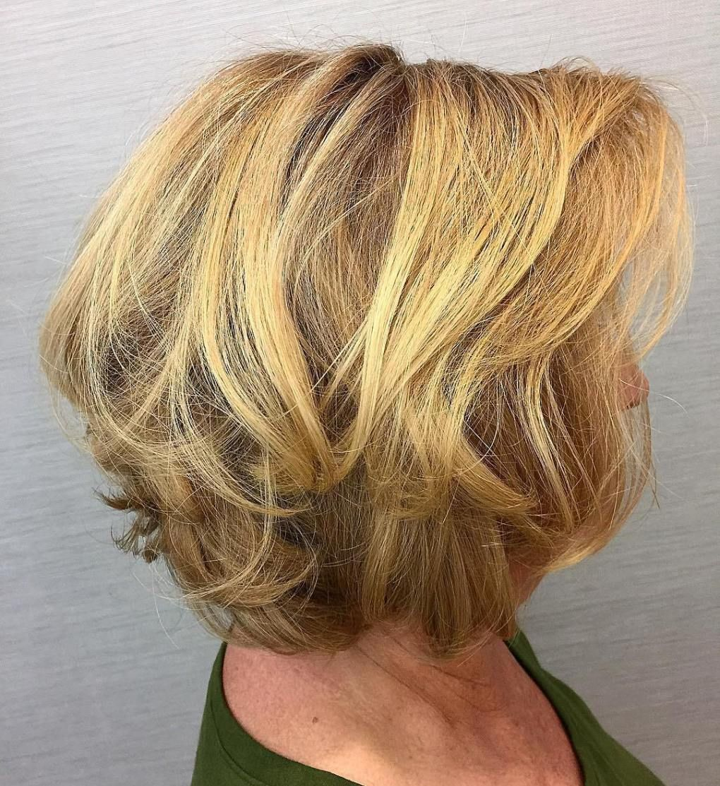 Golden-Highlights Best 12 Hairstyles for Women Over 60 to Look Younger