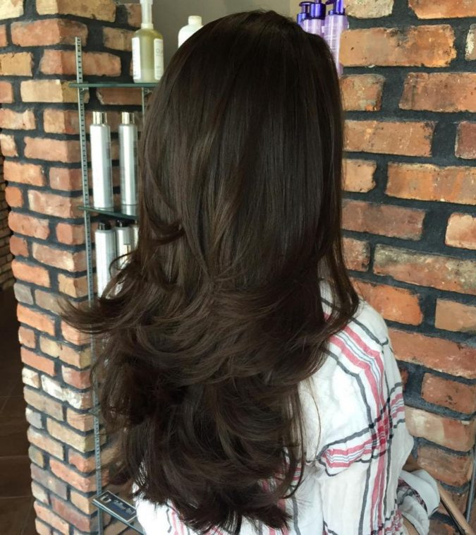 Long-lovely-layers-675x758 20 Most Trendy Hairstyles for Women over 40 to Look Younger