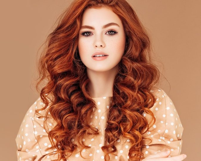Natural-Looking-Red.-675x542 Top 20 Hottest Colorful Hair Ideas that Are So Cool in 2020