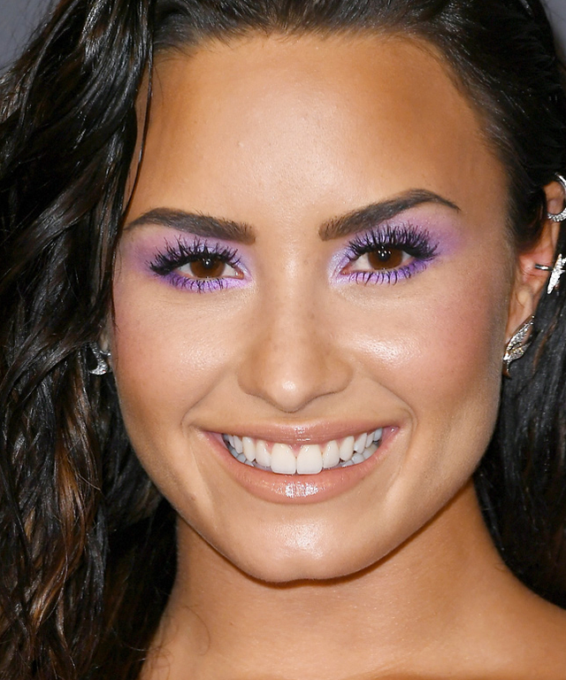 Pastel-Lavender.-1 Best 10 Colorful Face Makeup Looks to Try in 2021