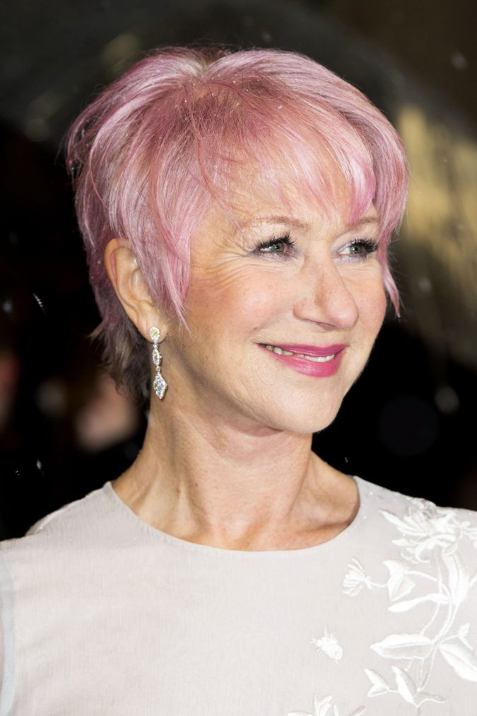 Pink-Ombre-675x1012 Best 12 Hairstyles for Women Over 60 to Look Younger