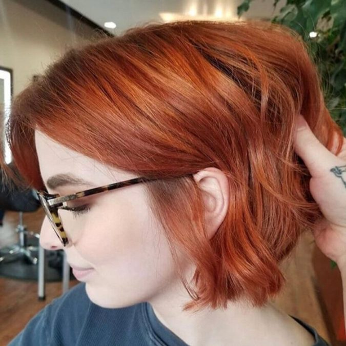 Rusty-Copper-1-e1595427785581-675x675 Top 20 Hottest Colorful Hair Ideas that Are So Cool in 2020