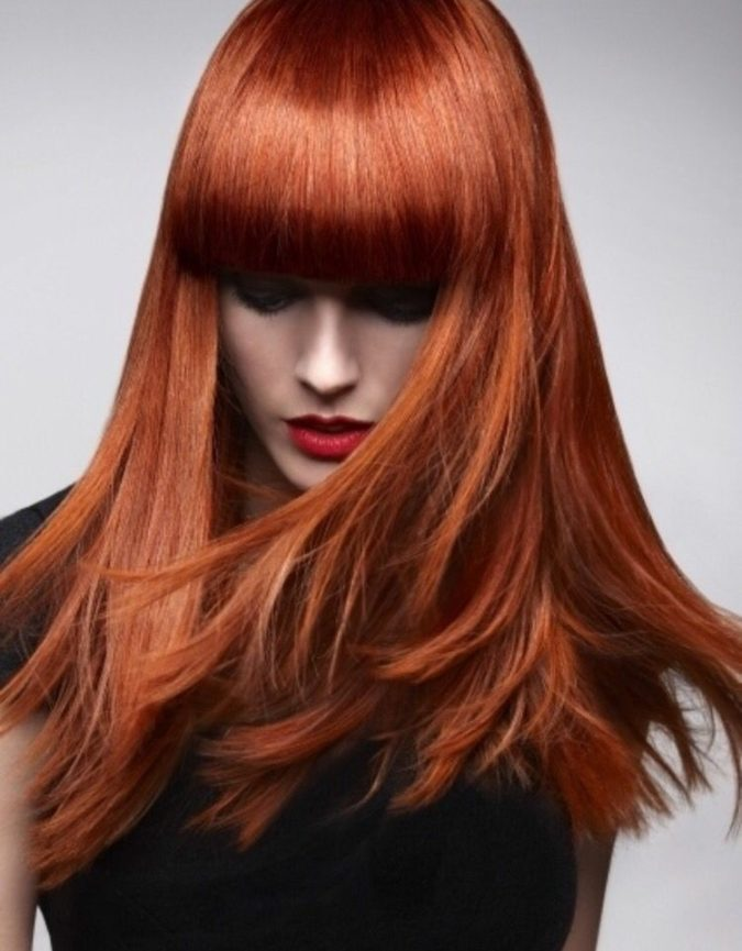 Rusty-Copper-675x865 Top 20 Hottest Colorful Hair Ideas that Are So Cool in 2020