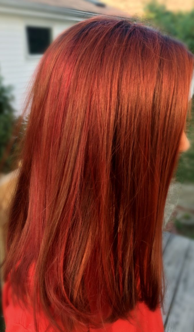 Rusty-Copper.-675x1153 Top 20 Hottest Colorful Hair Ideas that Are So Cool in 2020