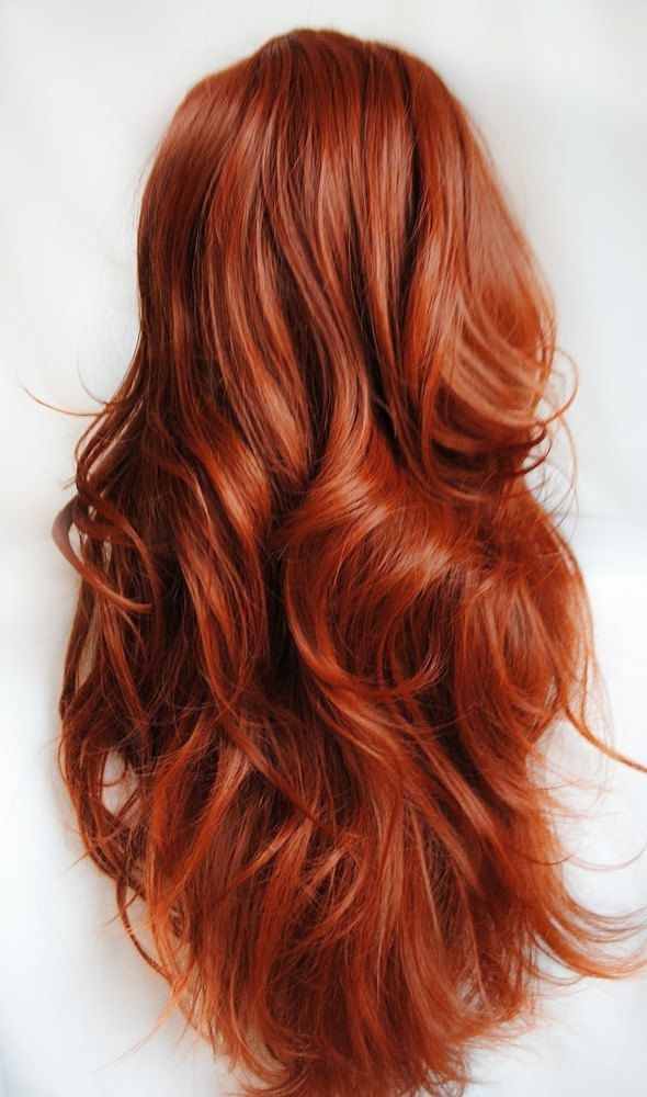 Rusty-Copper.. Top 20 Hottest Colorful Hair Ideas that Are So Cool in 2021