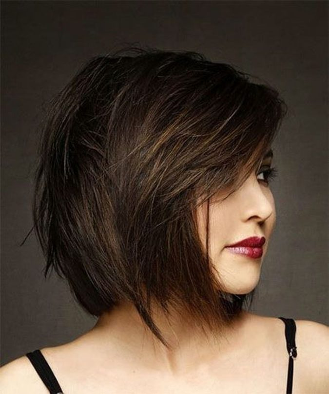 The-side-swept-hair-bob.-675x810 20 Most Trendy Hairstyles for Women over 40 to Look Younger