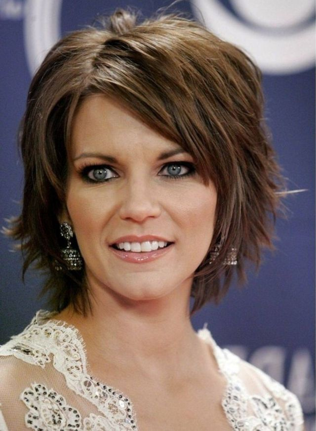 The-side-swept-hair-bob 20 Most Trendy Hairstyles for Women over 40 to Look Younger
