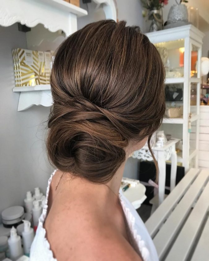 The-simple-up-do..-675x843 20 Most Trendy Hairstyles for Women over 40 to Look Younger