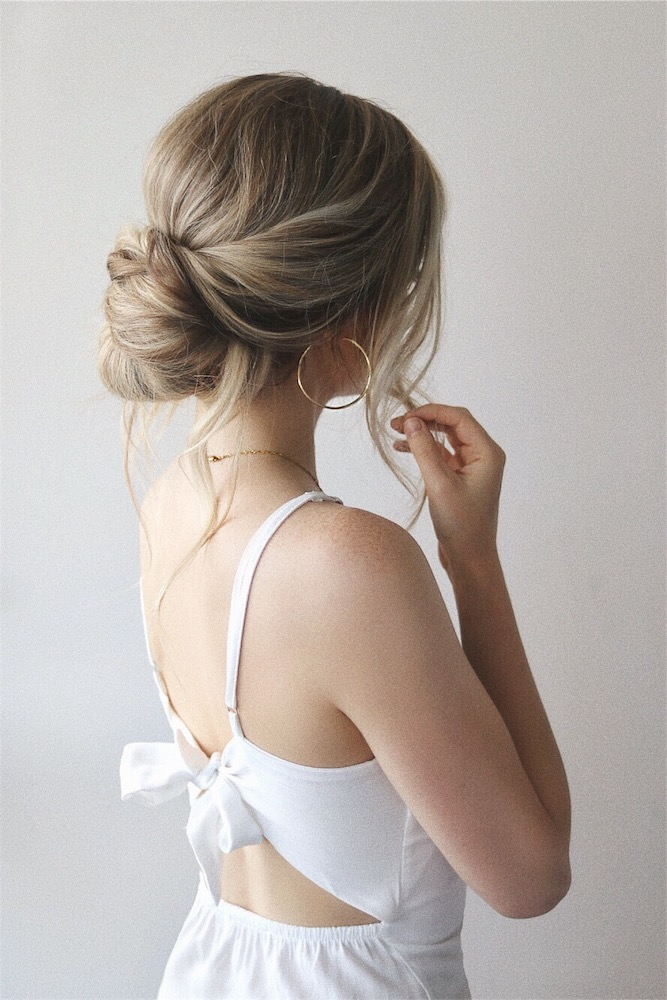 The-simple-up-do 20 Most Trendy Hairstyles for Women over 40 to Look Younger