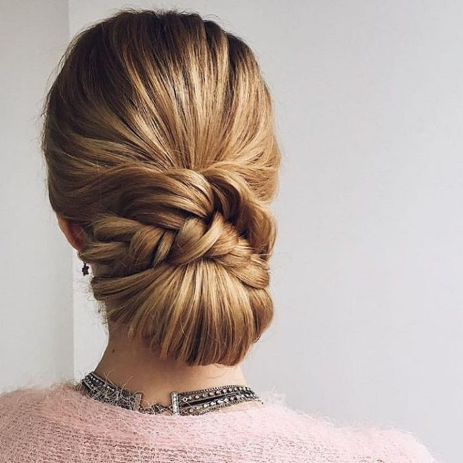 The-sleek-up-do.-675x675 20 Most Trendy Hairstyles for Women over 40 to Look Younger