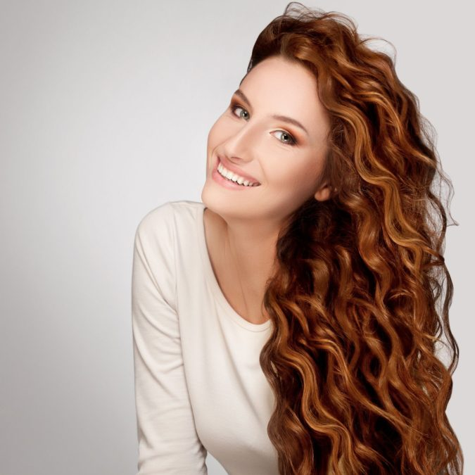 Tighter-long-hair-curls-1-675x675 20 Most Trendy Hairstyles for Women over 40 to Look Younger
