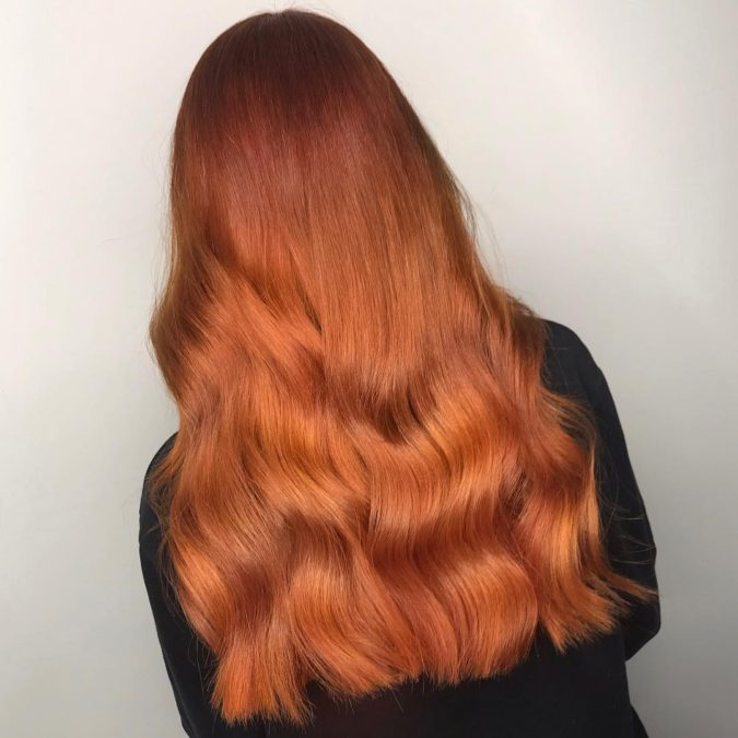 Tonal-Terracotta.-675x675 Top 20 Hottest Colorful Hair Ideas that Are So Cool in 2021