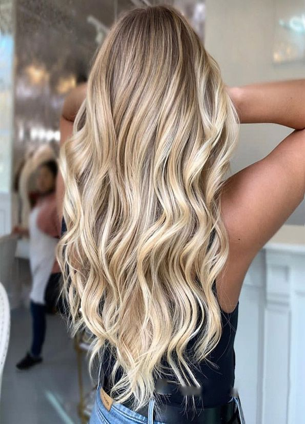 Wheat-Blonde.-1 Top 20 Hottest Colorful Hair Ideas that Are So Cool in 2021