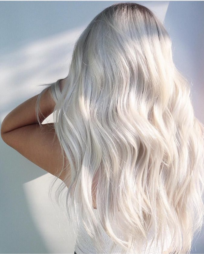 beyond-blonde.-2-675x843 Top 20 Hottest Colorful Hair Ideas that Are So Cool in 2021