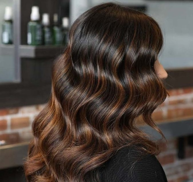 brown-hair-1-675x637 Top 20 Hottest Colorful Hair Ideas that Are So Cool in 2020