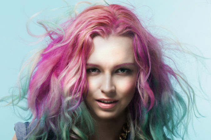 colorful-hair-675x448 Top 20 Hottest Colorful Hair Ideas that Are So Cool in 2020
